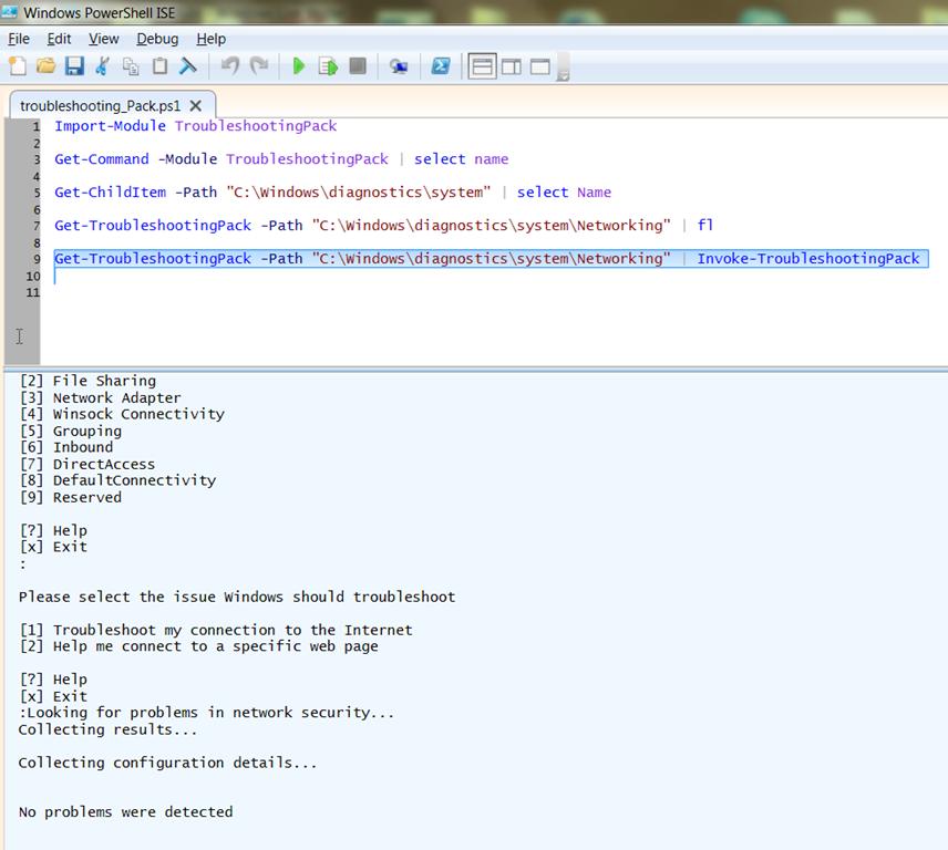 Windows Troubleshooting Pack – Windows 7, Windows Server